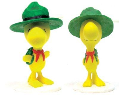 Woodstock Garden Statue - Green Hat
