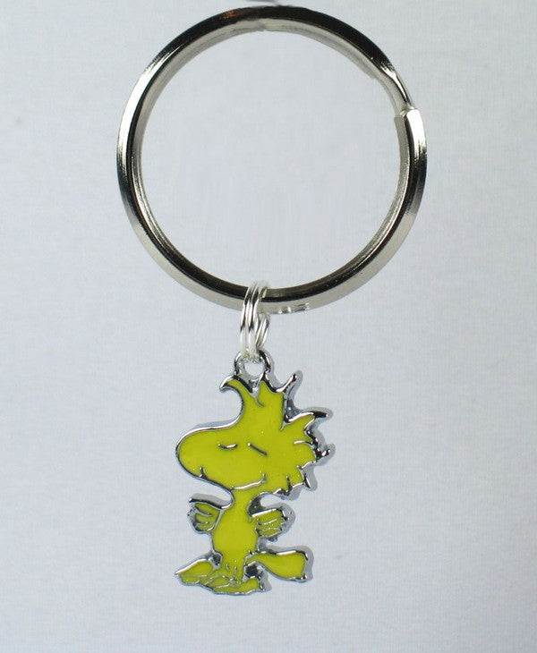 Woodstock Silver Plated Key Chain