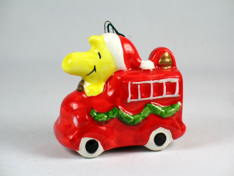 1979 Transportation Series Christmas Ornament - Woodstock Fire Truck