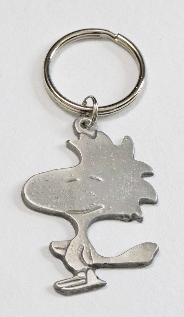 Woodstock Pewter Key Chain