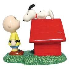 Charlie Brown and Snoopy Figurine