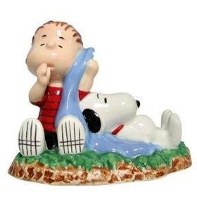 Linus and Snoopy Napping Figurine