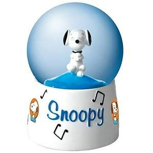 Dancing Snoopy Animated and Musical Water Globe