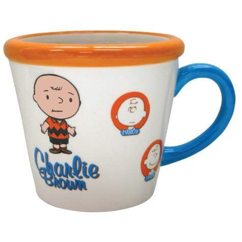 Through The Years Mug - Charlie Brown