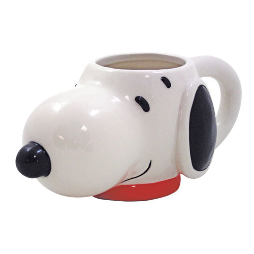 Snoopy Head Ceramic Mug