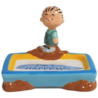 Pig Pen Ceramic Soap Dish