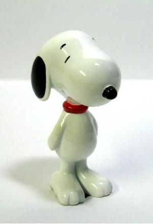 Glazed Peanuts Figurine - Snoopy