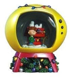 A Charlie Brown Christmas TV-Shaped Water Globe