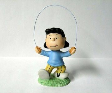 Lucy Jumping Rope Figurine