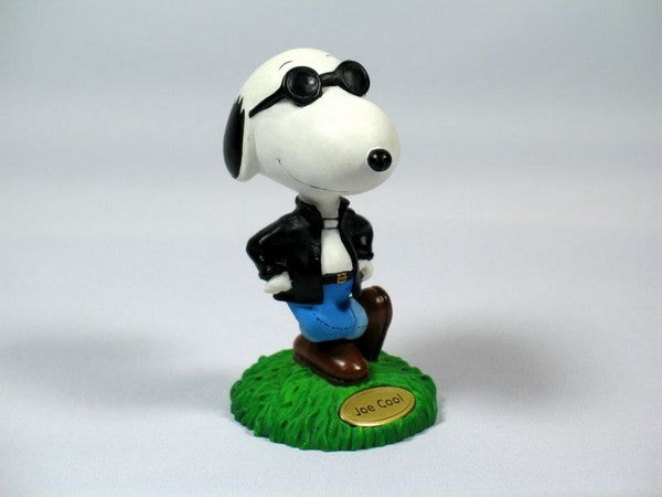 Joe Cool Figurine With Name Plate