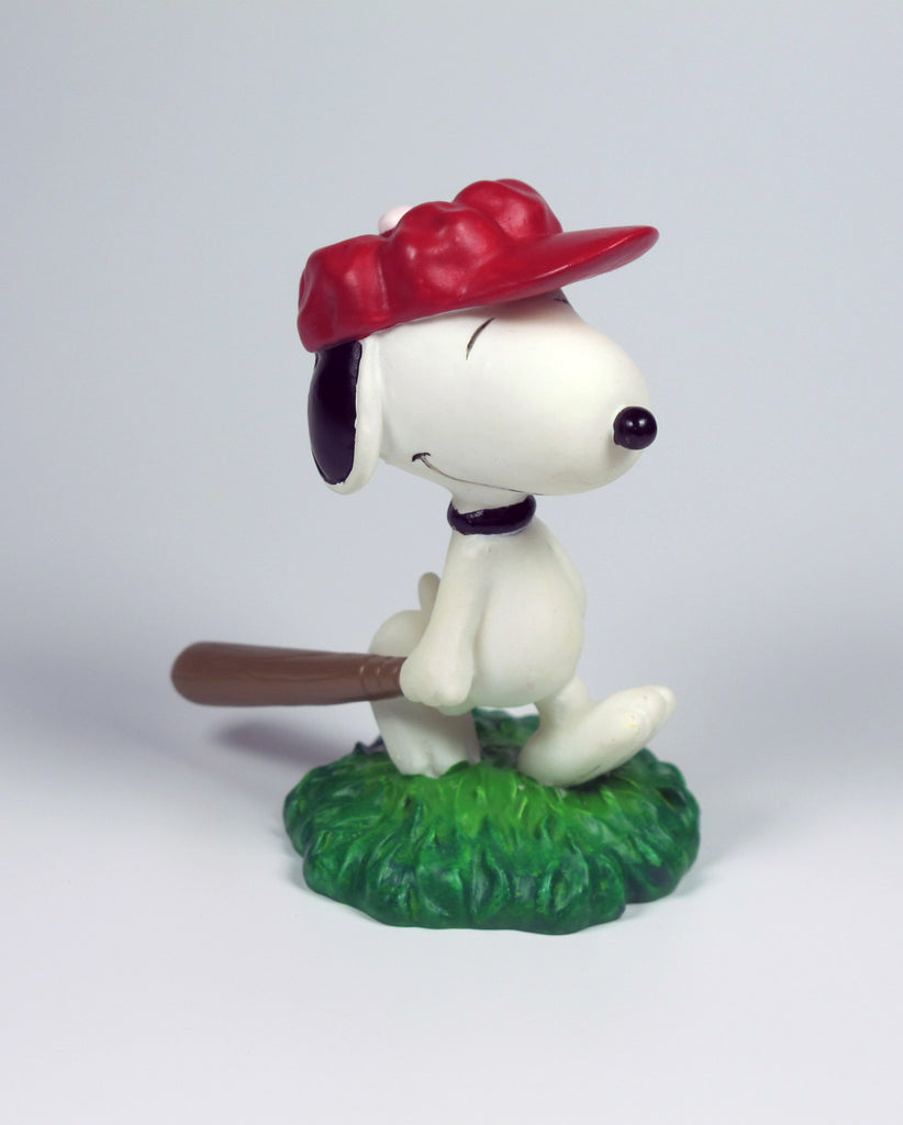 Snoopy Baseball Player Figurine
