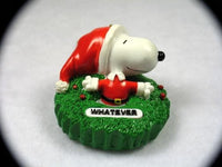 SNOOPY WHATEVER ORNAMENT