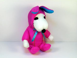 Snoopy Easter Bunny Doll - Pink