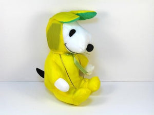 Snoopy Easter Bunny Doll - Yellow