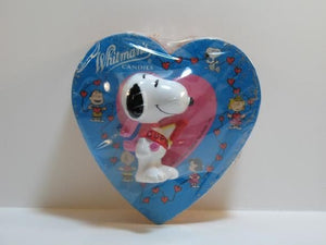CUPID SNOOPY PVC ON HEART CANDY BOX