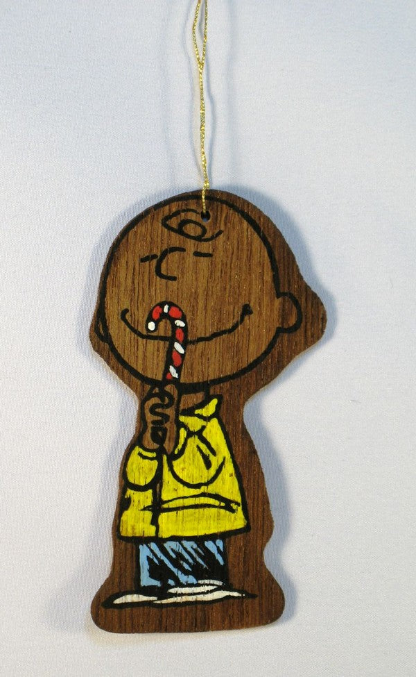 Wooden Ornament - Charlie Brown