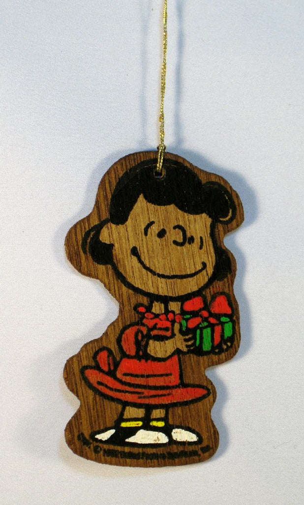 Wooden Ornament - Lucy