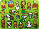 Peanuts Gang Wood Christmas Ornament Set - RARE!