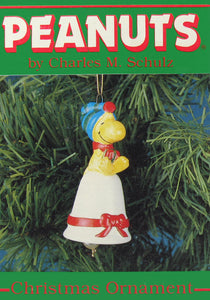1987 Woodstock Christmas Bell Ornament