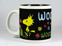 Personalized Black Mug - Woodstock