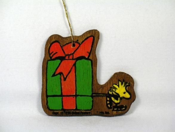Wooden Ornament - Woodstock