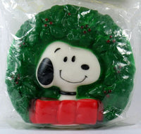 Snoopy Wreath Vinyl Squeeze Toy