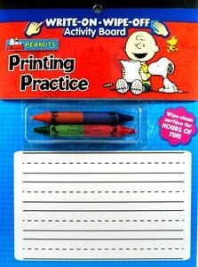 Charlie Brown and Snoopy Write-On Board - PRICE REDUCED!