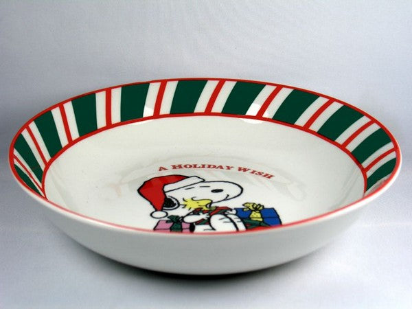 Snoopy Christmas Bowl - A Holiday Wish