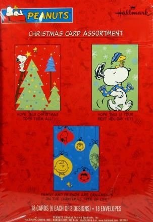 Peanuts Gang Christmas Card Assortment