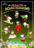 Peanuts Gang Press-Out Christmas Decorations