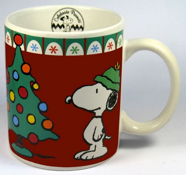 60th Anniversary Christmas Mug - Snoopy's Tree