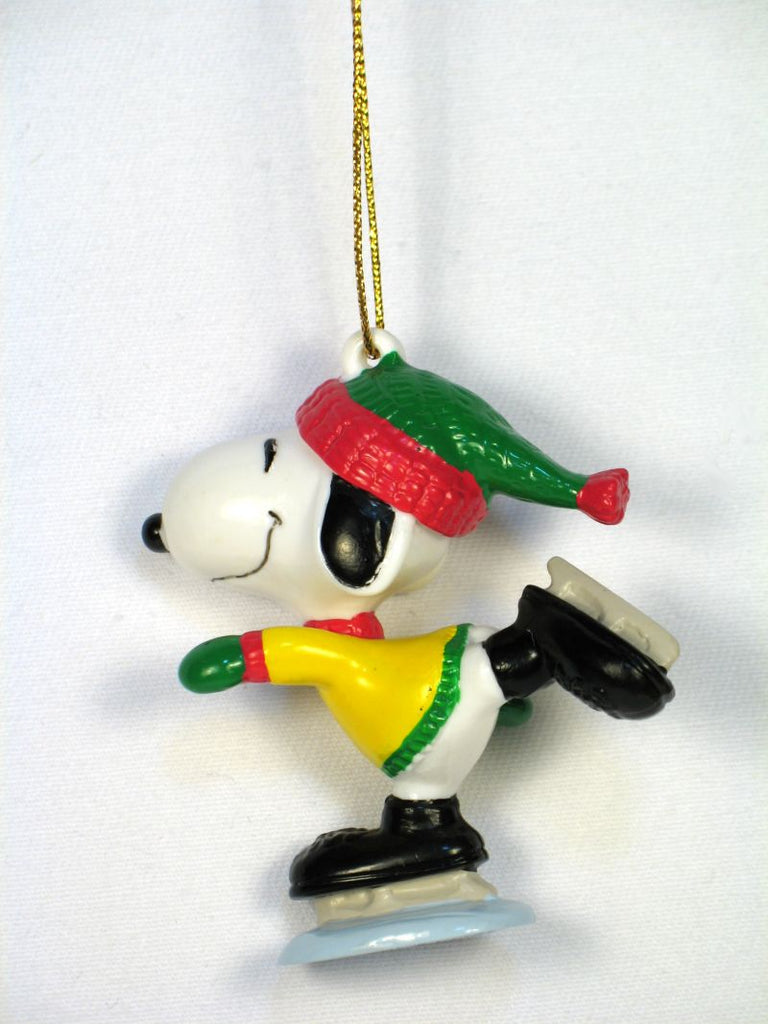 Snoopy Skater PVC Ornament