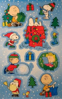 Peanuts Gang Christmas Stickers
