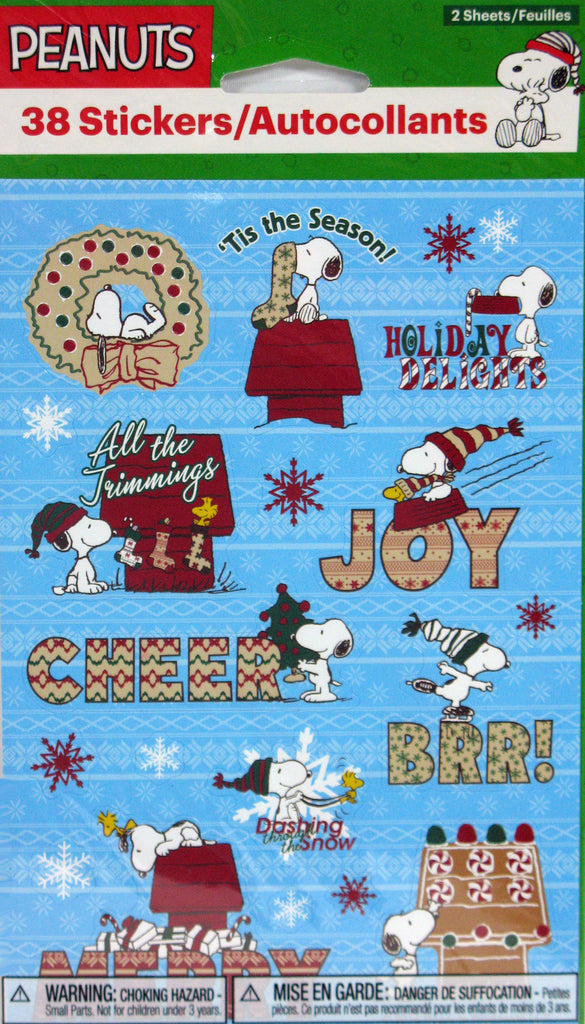 Snoopy Holiday Stickers