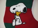 "SNOOPY LARGE MUSICAL CHRISTMAS STOCKING - Featuring Vince Guaraldi's Original Song - ""Christmas Time Is Here"""