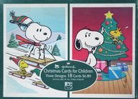 Snoopy Vintage Christmas Cards