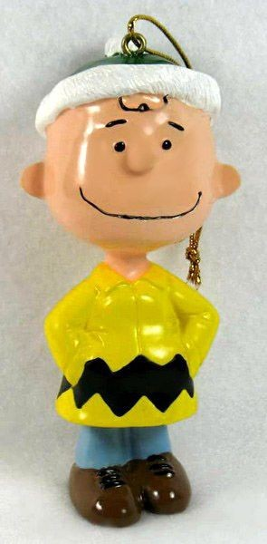 ADLER CHARLIE BROWN ZIG ZAG COAT ORNAMENT - REDUCED PRICE!