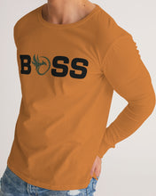 "Load image into Gallery viewer, ""B.O.S.S."" Long Sleeve Tee"