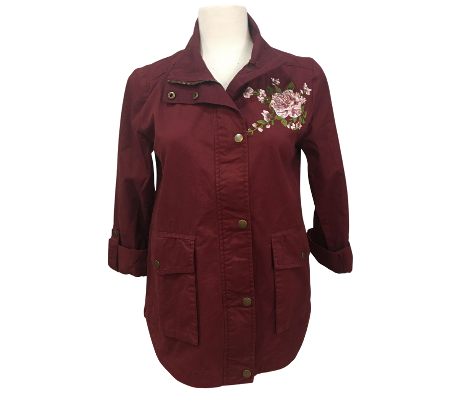 Wine and Roses Jacket