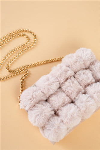 Bubble Faux Fur / Ivory