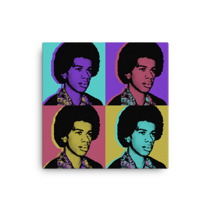 Load image into Gallery viewer, Steve Harvey 'Be Somebody' Warhol Canvas