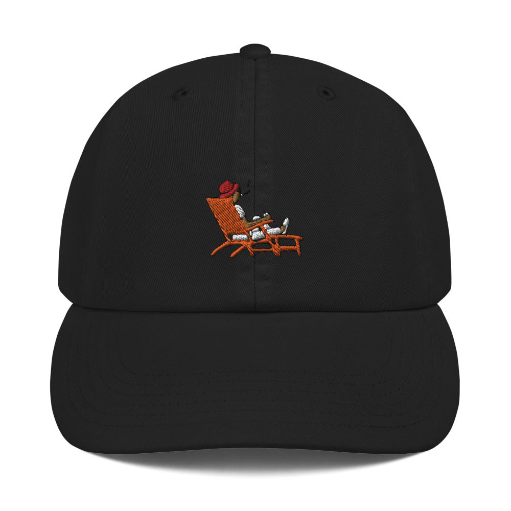 Load image into Gallery viewer, Steve Loungin' Emoji Champion Hat