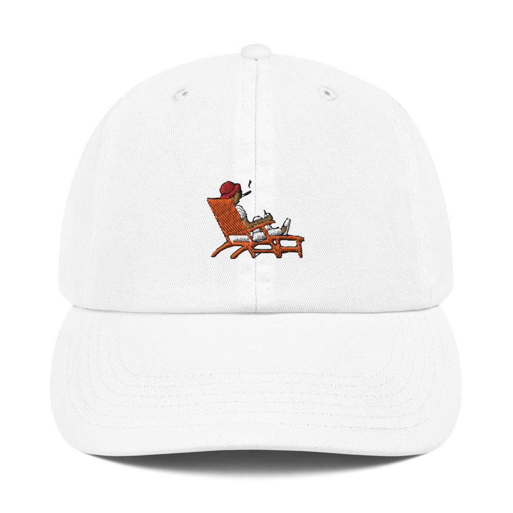 Steve Loungin' Emoji Champion Hat