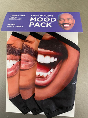 Load image into Gallery viewer, Steve Harvey Face Mask Mood Pack