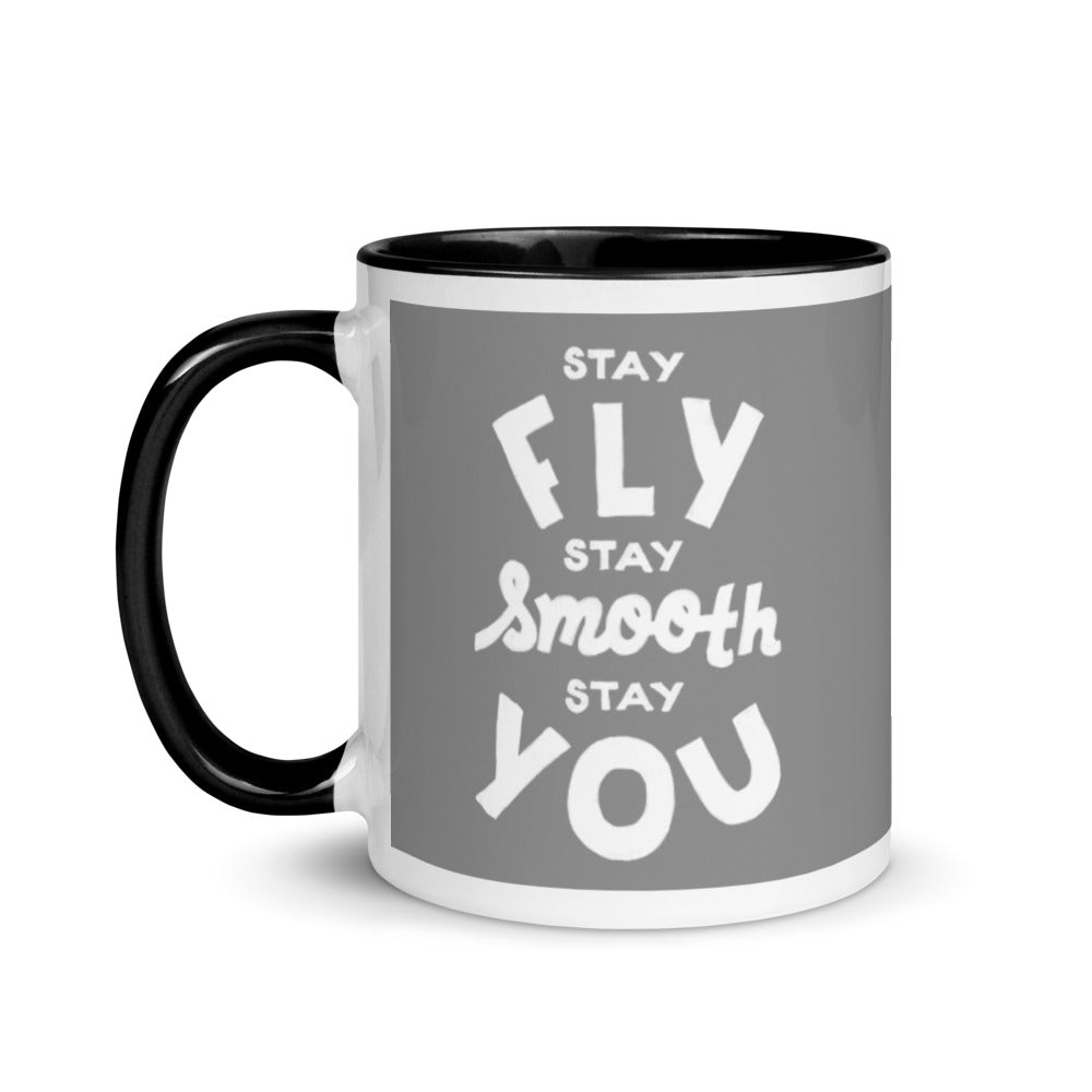 Stay Fly, Stay Smooth, Stay You Steve Harvey Mug