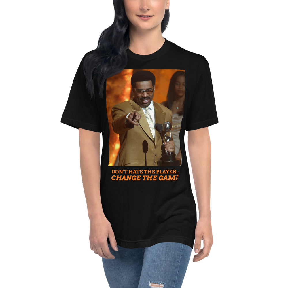 Load image into Gallery viewer, Don't hate the player Steve Harvey t-Shirt