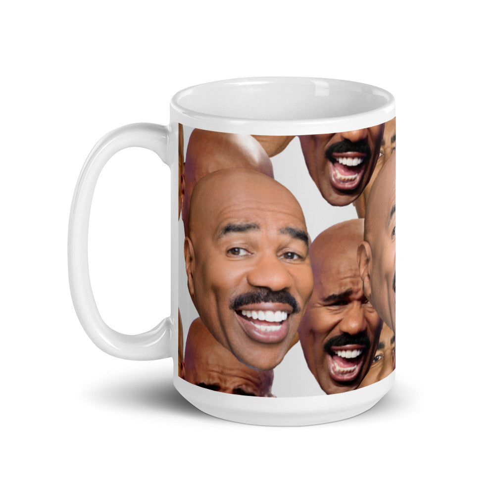 Load image into Gallery viewer, Many Faces of Steve Harvey Mug