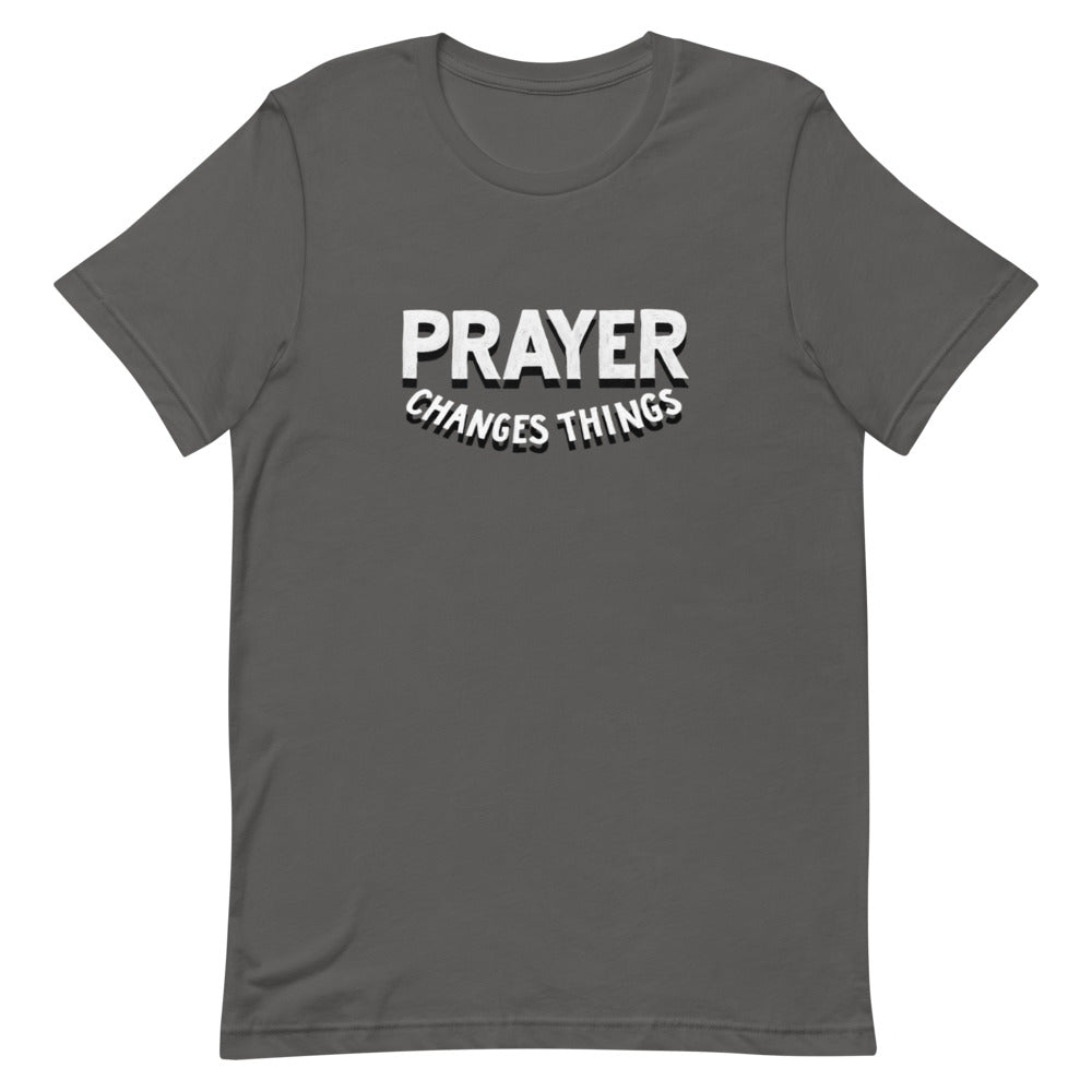 Load image into Gallery viewer, Prayer Changes Things Steve Harve T Shirt
