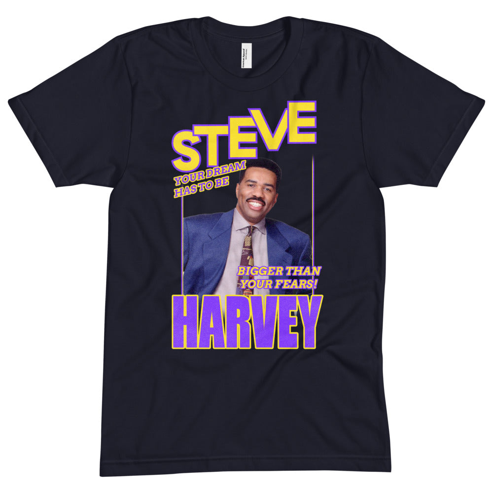 Load image into Gallery viewer, Dream bigger than your fears Steve Harvey Apparel
