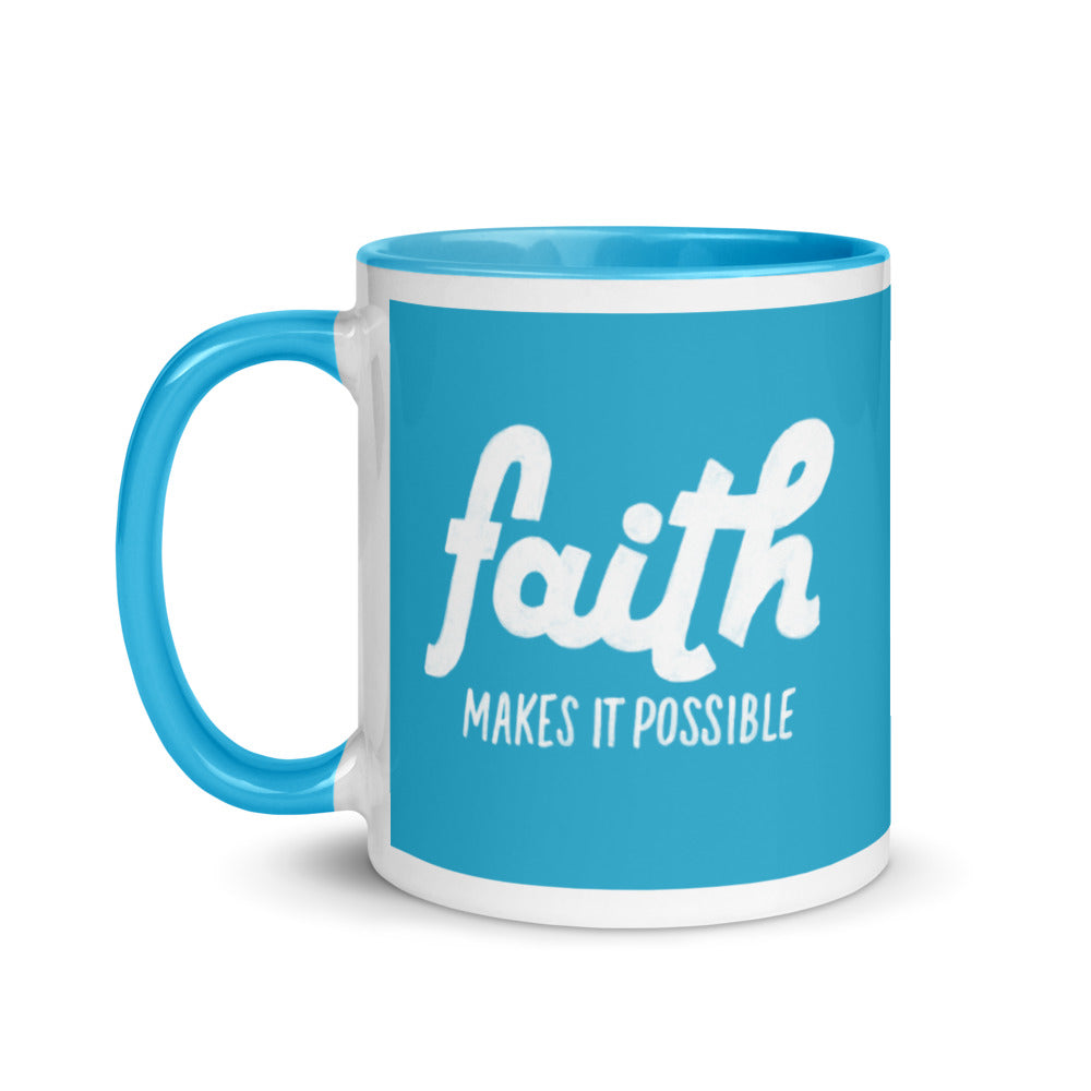 Load image into Gallery viewer, Faith Makes it Possible Steve Harvey Mug